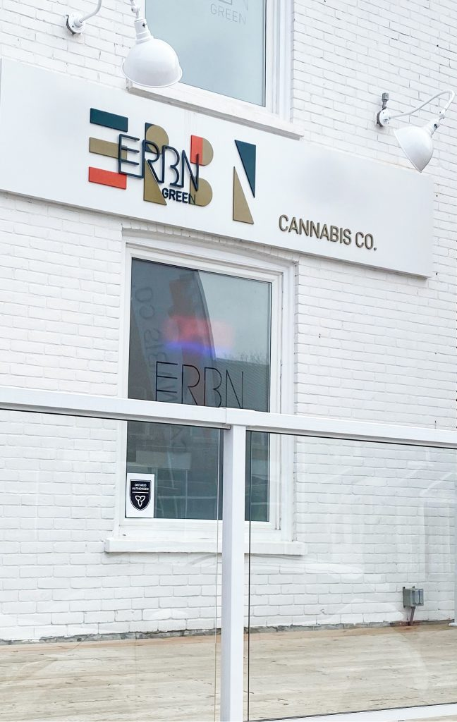 ERBN Green Cannabis Co Storefront